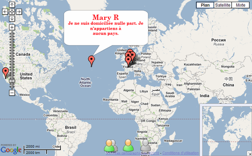 location Mary R