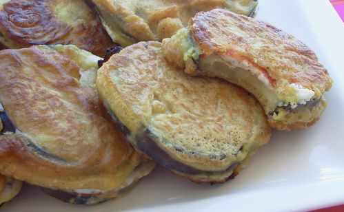 Beignets d'aubergines au chorizo6