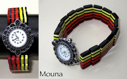 Montre Happy face DISPONIBLE: 22 euros.