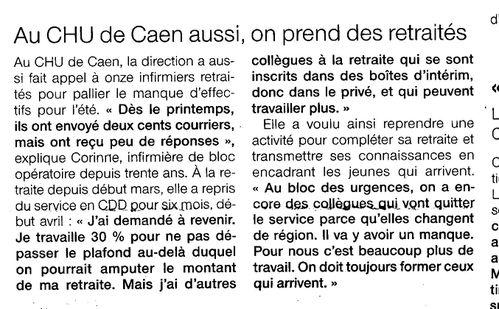 Au CHU de Caen aussi