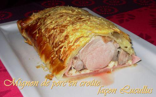 Mignon de porc en croûte façon Lucullus3