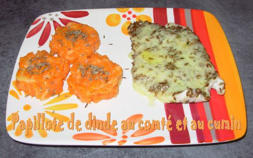 Papillote de dinde comt-cumin3