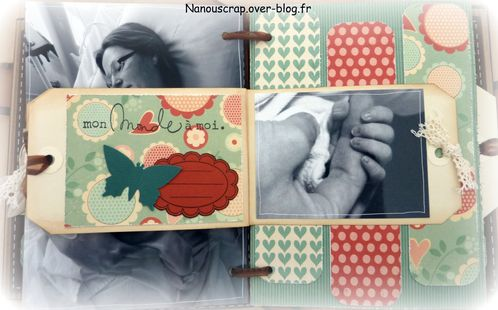 Mini album naissance book of tag 2