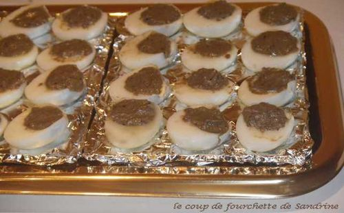 oeuf caille tapenade