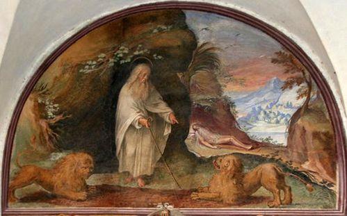 459f4 Rome, cloître de Sant'Onofrio