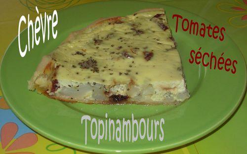 Tarte topi-chèvre-tomates4