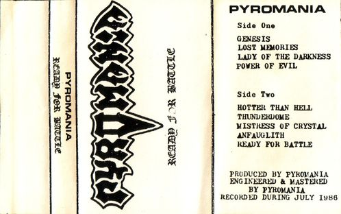 Pyromania - Cover
