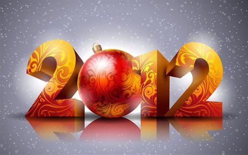 Happy New Year 2012 Desktop Wallpapers medium