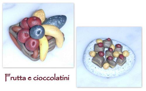 frutta e cioccolatini