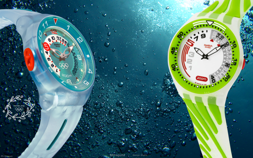 Swatch Olympic collection 2004