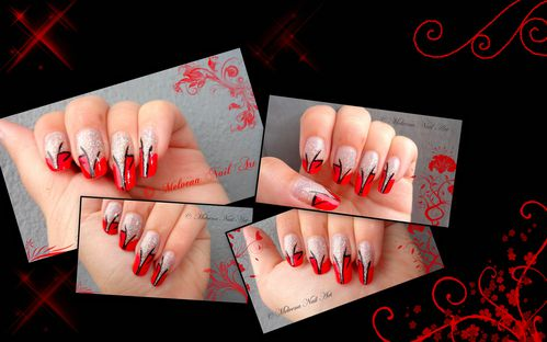 montagenail art rouge paillettes-copie-1