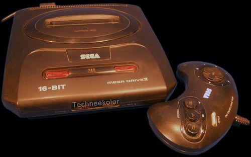 Sega mega drive II 1992
