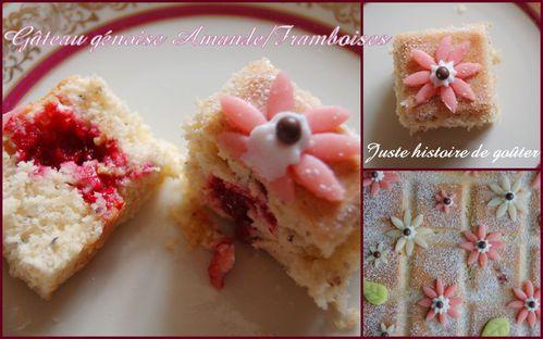 gâteau génoise am-framb