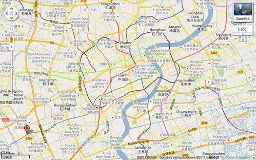 map Qibao