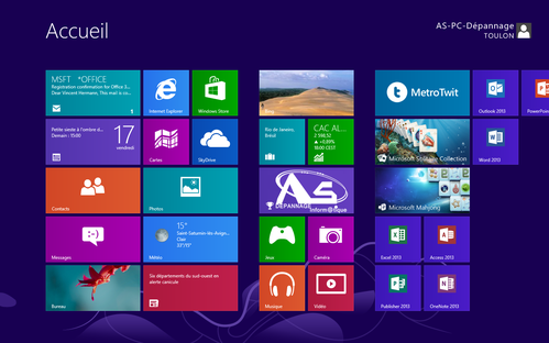 Interface Win8