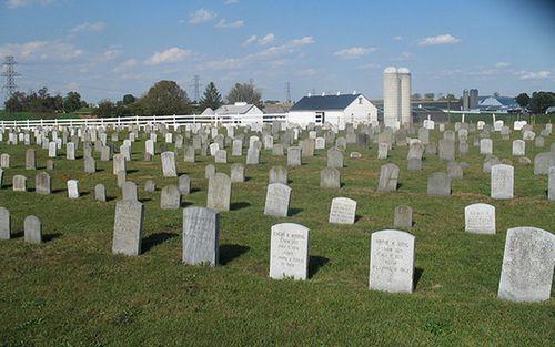 cimetière amish