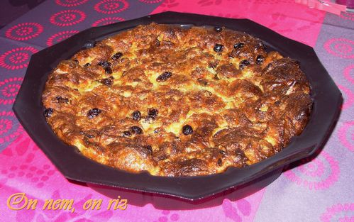 Pudding aux viennoiseries1
