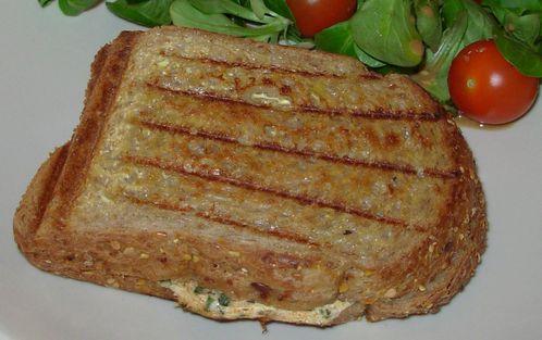 Croque au fromage blanc et à la ciboulette2
