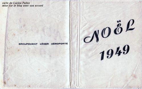 carte Noël 1949 GLA-BAPN -int