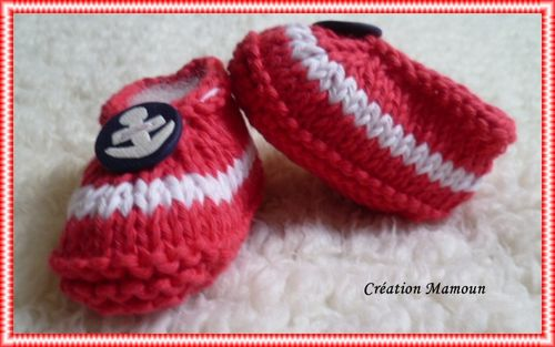 ballerines bouton ancre 1