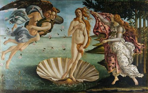 Botticelli La naissance de Vnus 01