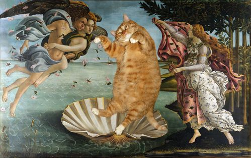 Botticelli La naissance de Vnus 02