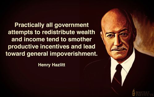 Henry hazlitt economics in one lesson