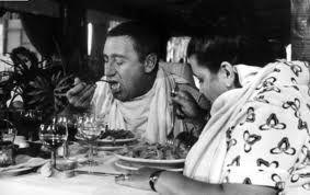alberto sordi spaghetti mario adinolfi guida mangiare Roma
