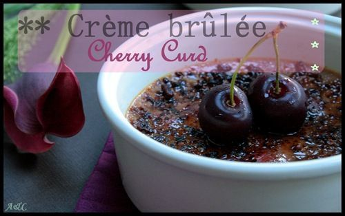 Cr&#xE8;me br&#xFB;l&#xE9;e