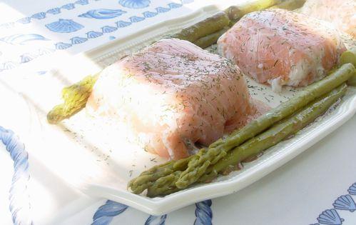 Terrine aux deux saumons et au lait d'amande3