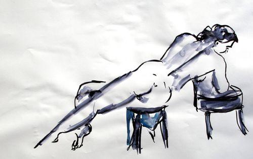 Nadia live drawing