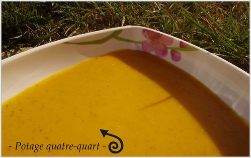 potage quatr quart