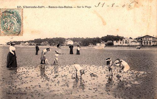 Plage de Ronce 1906