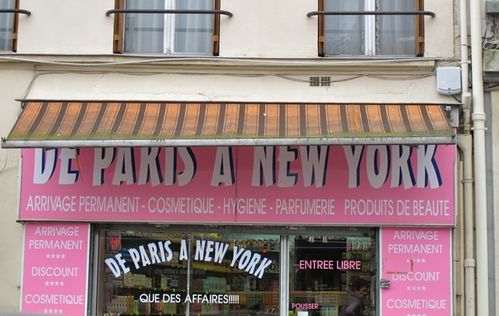 boutique Paris New-York