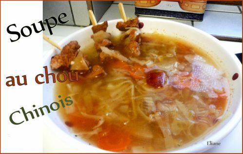 soupe au chou chinois 1