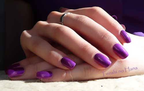 OPI Purple with a Purpose 3