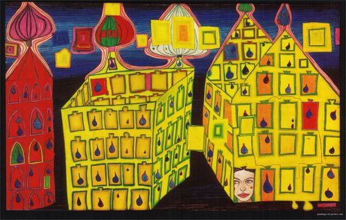 Hundertwasser-Paintings-1966-maisons-jaunes-jalousie.jpg