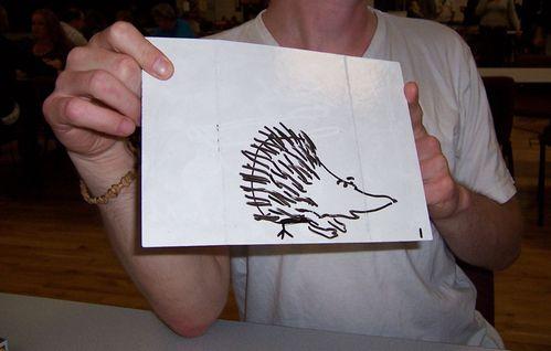 7 hérisson à patte d'oiseau ludimania 2010