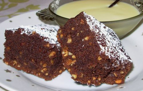 Brownie chocolat noir-nougatine6