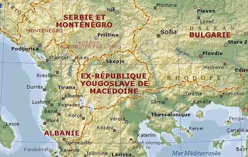 Macedoine Carte