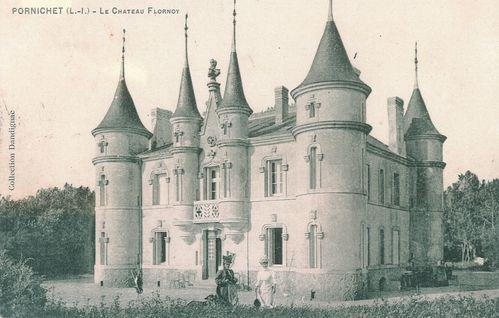 Pornichet chateau des tourelles 1910 VDP