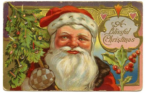 pere noel image ancienne