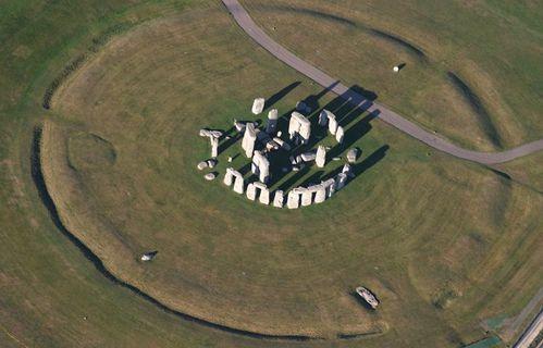 stonehenge - le fossé