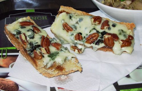 Tartines figues, roquefort & pécan5