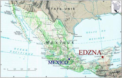 MexiqueCarte1-Edzna