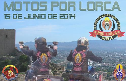 15 de junio 2014 Motos por Lorca angeles guardianes