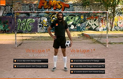 26 04 Chabal se met au foot avec Orange...