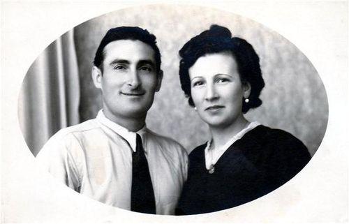 Julien et sa femme Nicette.