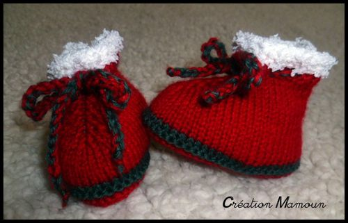 chaussons noel 2