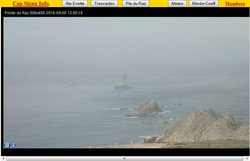 webcam pointe du raz